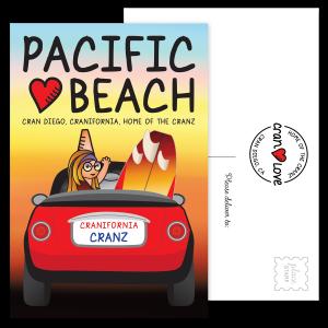 Carmen's Pacific Beach Postcard Set