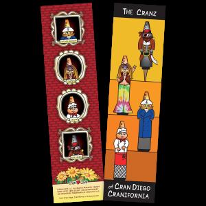 Cran Love Bookmark